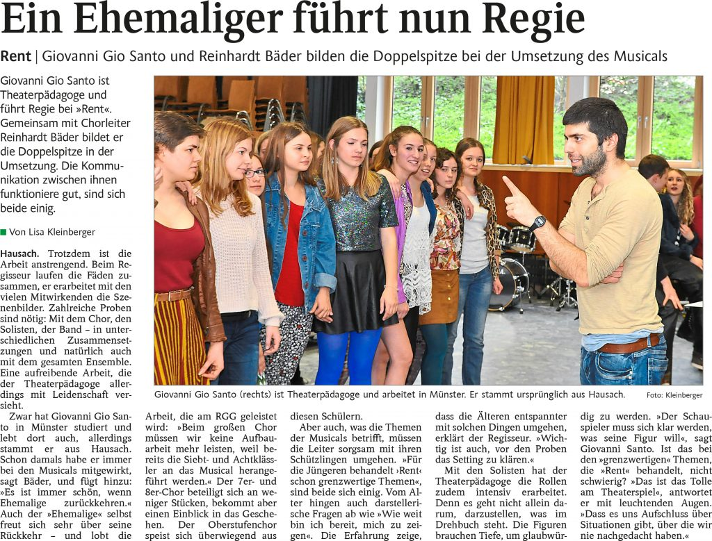 16_04_08 SchwaBo 'Ehemaliger Schüler führt nun Regie'